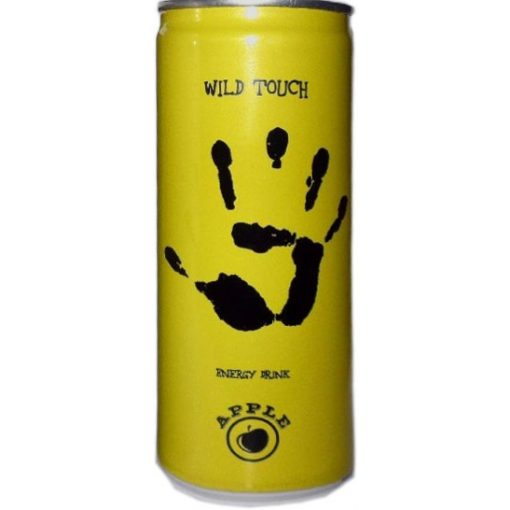 Wild touch energiaital almás 0,25l