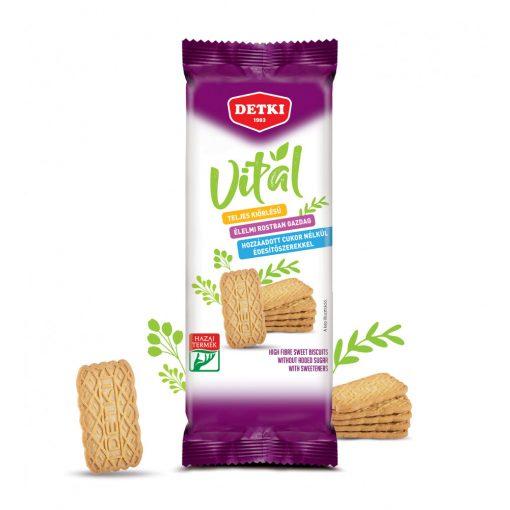 Detki Vitál omlós keksz hozzáadott cukor nélkül 170g
