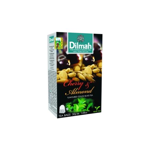 Dilmah tea cseresznye-madula 20x1,5g