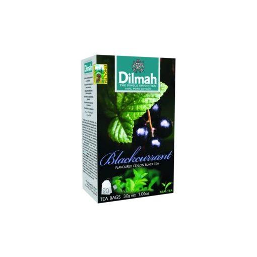 Dilmah tea feketeribizli 20x1,5g