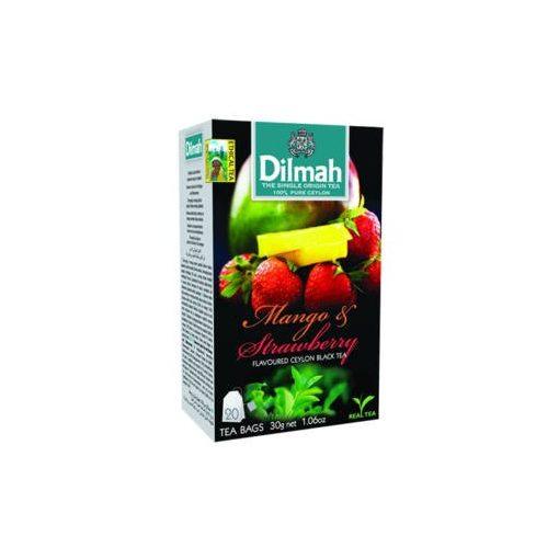 Dilmah tea mangó-eper 20x1,5g