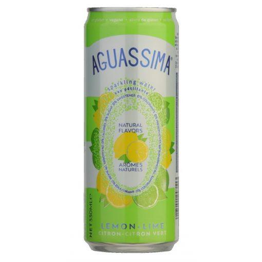 Aguassima ízesített víz citrom-lime 330ml