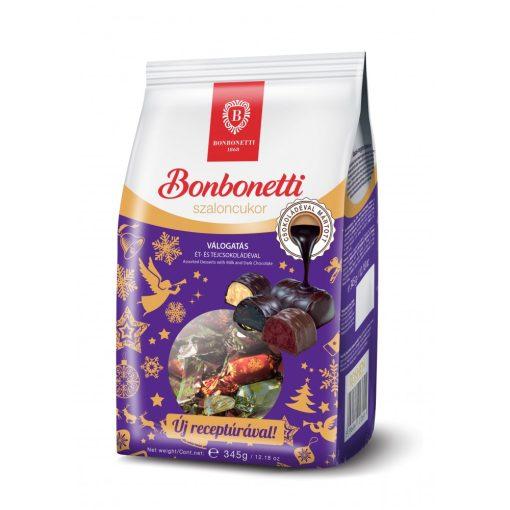Bonbonetti szaloncukor ét-tejcsokoládé válogatás 345g