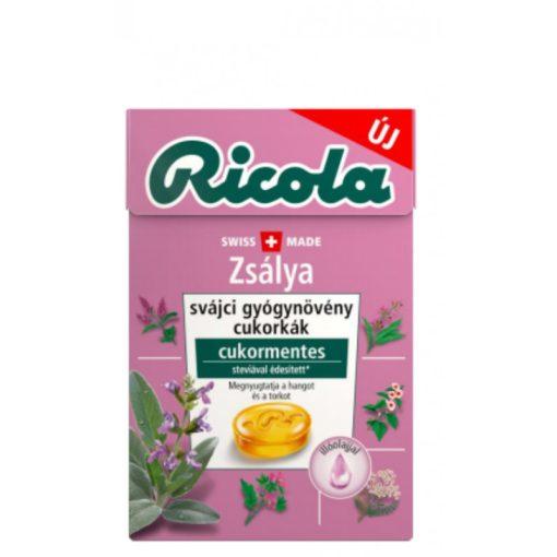 Ricola gyógynövényes cukorka zsálya 40g