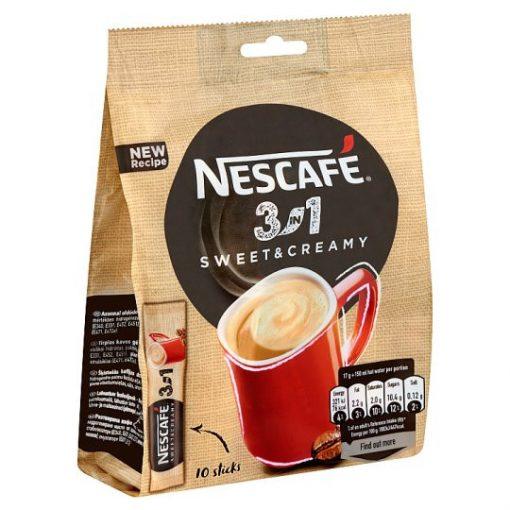 Nescafé 3in1 Sweet and Creamy 10x17g