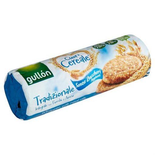 Gullon élelmi rostban gazdag keksz hozzáadott cukor nélkül 280g