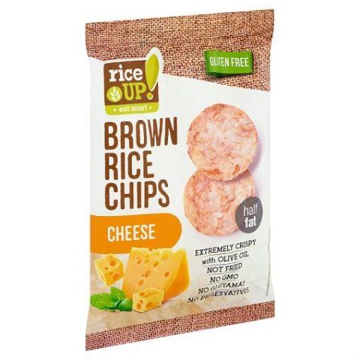 Rice up barnarizs chips sajtos 60g