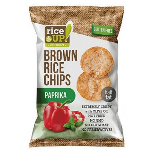 Rice up barnarizs chips paprikás 60g