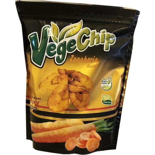 Vegechip gluténmentes zöldség chips sárgarépa 70g