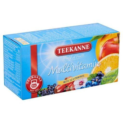 Teekanne World of Fruit gyümölcstea multivitamin 50g