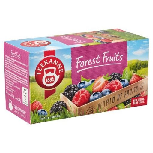 Teekanne World of Fruit Forest Fruit erdei gyümölcstea 50g