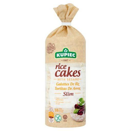 Kupiec gluténmentes puffaszott rizskeksz szezámmaggal 90g