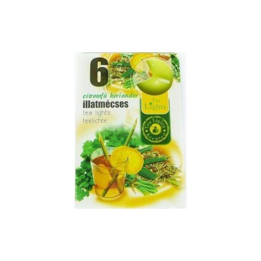 Illatmécses citromfű-koriander illat 6 db-os