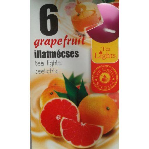 Illatmécses grapefruit illat 6 db-os