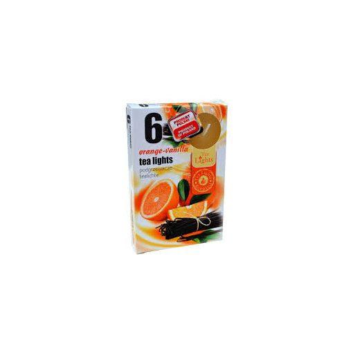 Illatmécses vanília-narancs illat 6 db-os