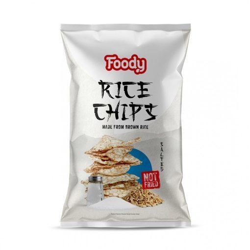Foody rizschips  sós 55g