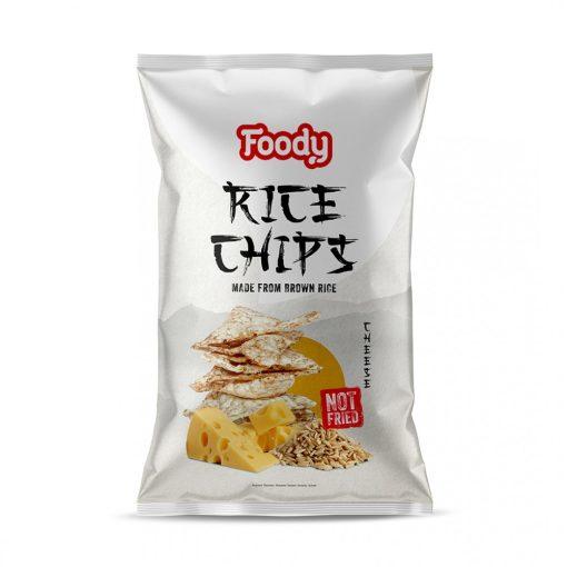 Foody rizschips sajtos 55g