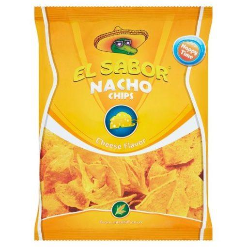 El Sabor Nacho Chips sajtos 100g