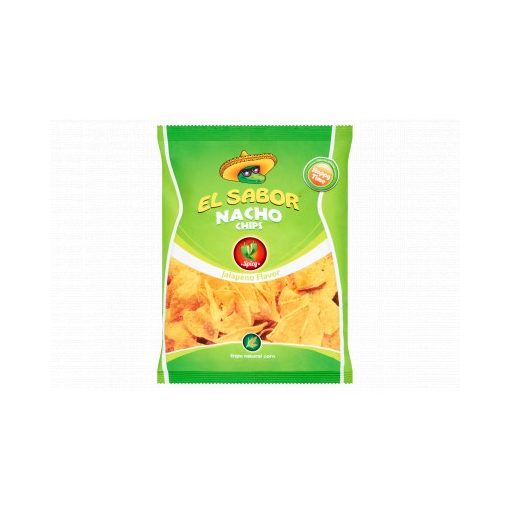El Sabor Nacho Chips jalapeno  paprikás 100g