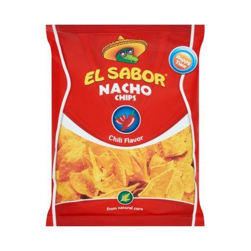 El Sabor Nacho Chips chilI ízesítéssel 100g