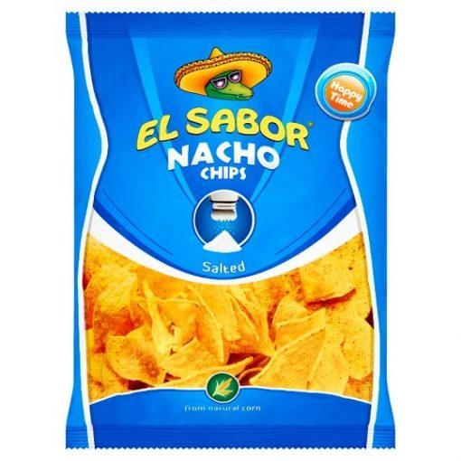 El Sabor Nacho Chips sós 100g