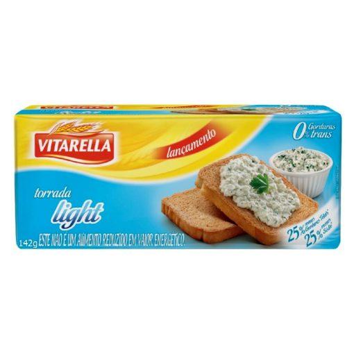Vitarella Kétszersült szeletelt kenyér light 142g