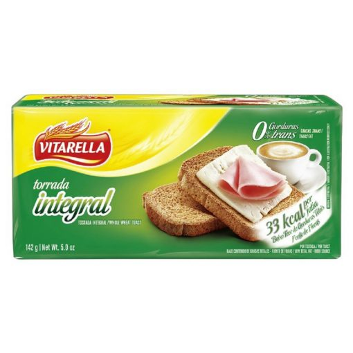 Vitarella Kétszersült szeletelt kenyér búzakorpás 142g