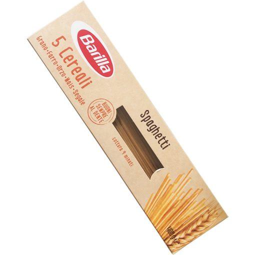 Barilla spagetti tészta 5 gabonás 400g