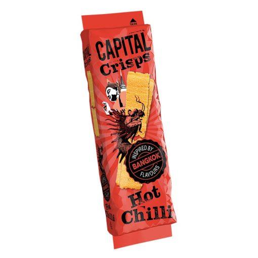 Capital Crisps csípős chilis ízű burgonyachips 75g