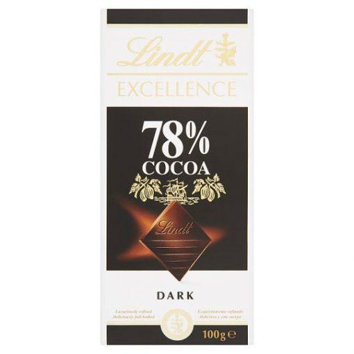 Lindt Excellence extra keserű csokoládé 78% 100g