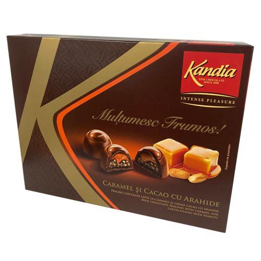 Kandia Praliné karamell és mogyorós töltelékkel 102g