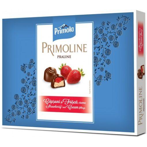 Kandia Primoline praliné eper tejszín ízű krémmel 103g