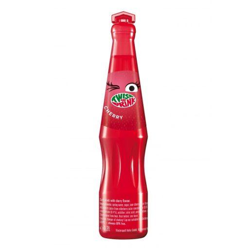 Twist&Drink csökkentett cukortartalmú üdítő ital cseresznye ízű 200ml