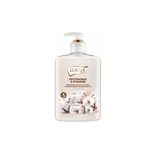 Luksja Linen&Rice milk folyékony szappan 500ml