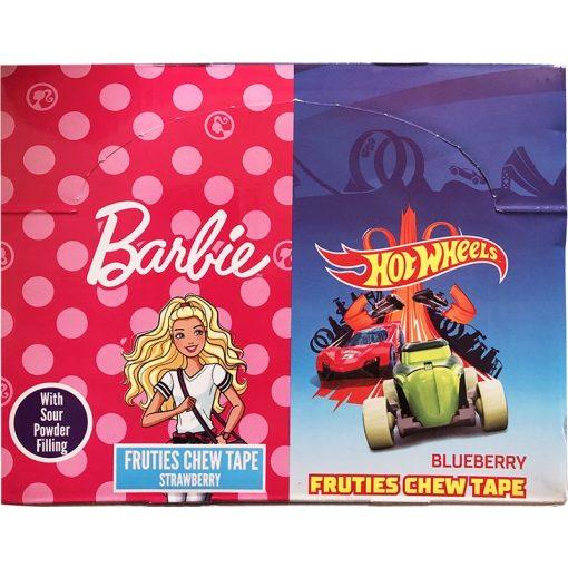 Barbie - Hot Wheels rágó 20g
