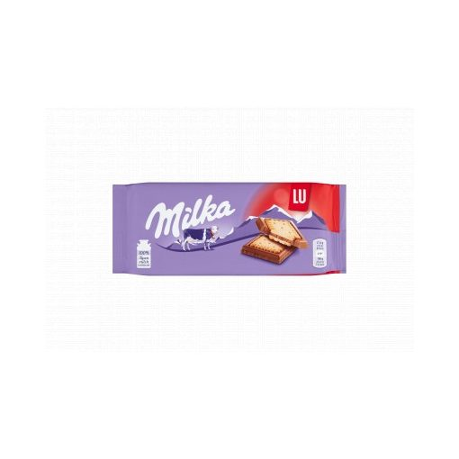 Milka tejcsokoládé ropogós keksszel 87 g
