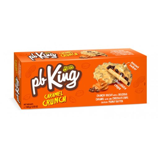 Bergen PB King karamellás keksz mogyoróvajjal 140g