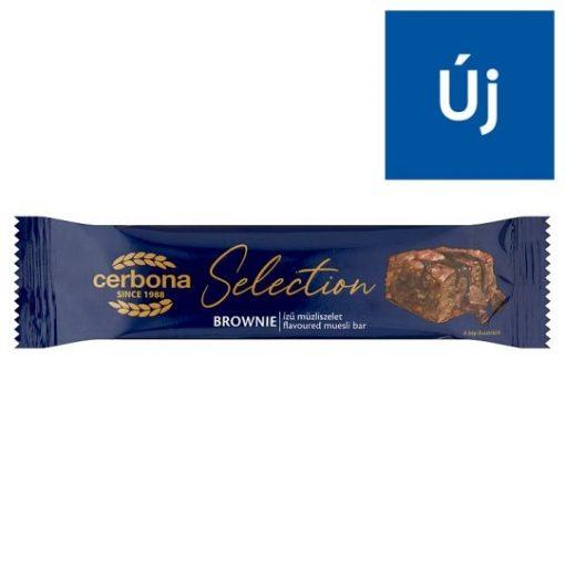 Cerbona Selection müzliszelet brownie 22g