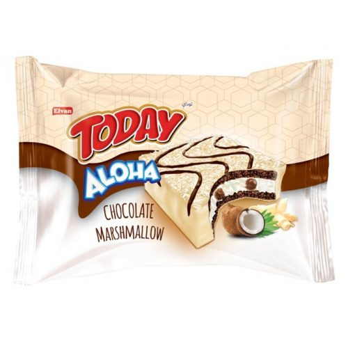 Elvan Today Aloha chocolate marsmallow fehér 25g