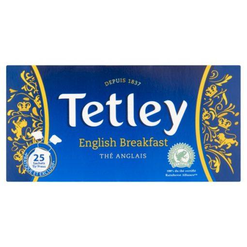 Tetley fekete tea 25filter 50g