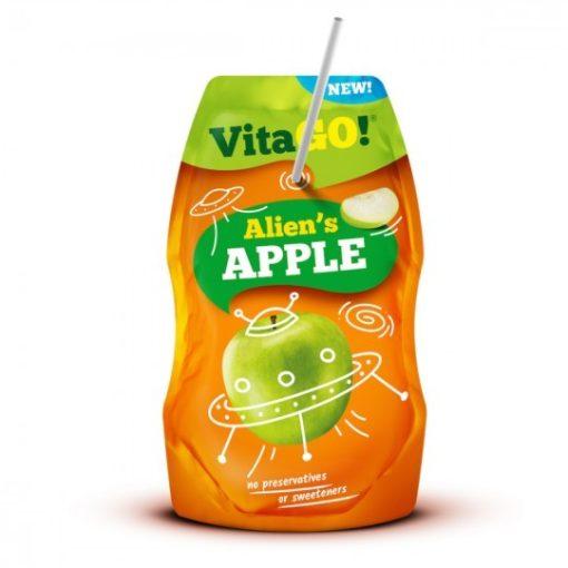 Vitago szívószálas üdítőital alma 200ml