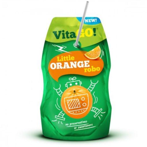 Vitago szívószálas üdítőital narancs 200ml