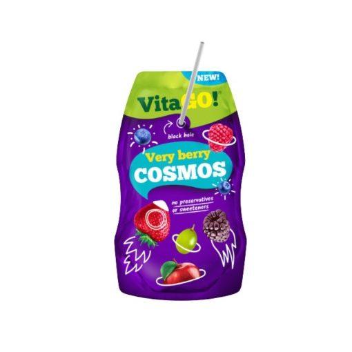 Vitago szívószálas üdítőital very berry 200ml