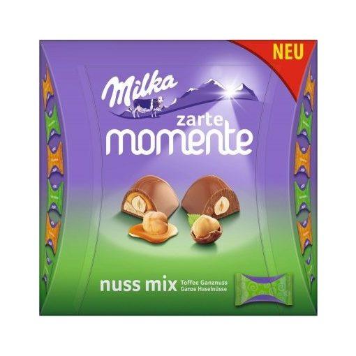 Milka moments mogyoró mix 169g