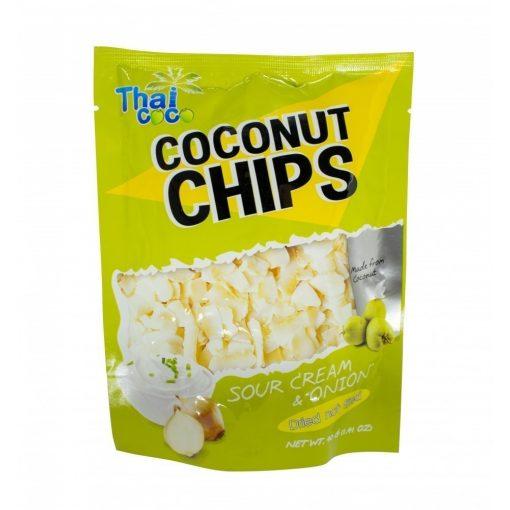 Thai Coco kókuszchips hagymás-tejfölös 40g
