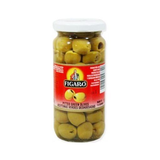 Figaro Zöld Olívabogyó magozott üveges 142g/70g
