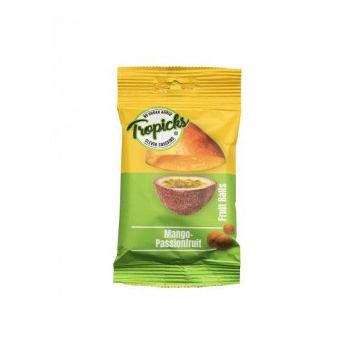 Tropicks aszalt mangó-passiógyümölcs gyümölcsgolyó 50g