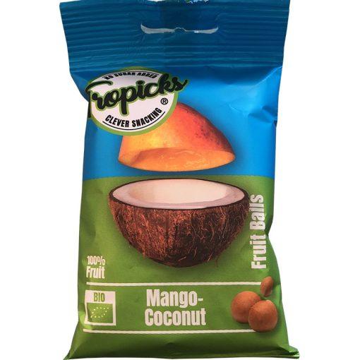 Tropicks aszalt mangó-kókusz gyümölcsgolyó 50g