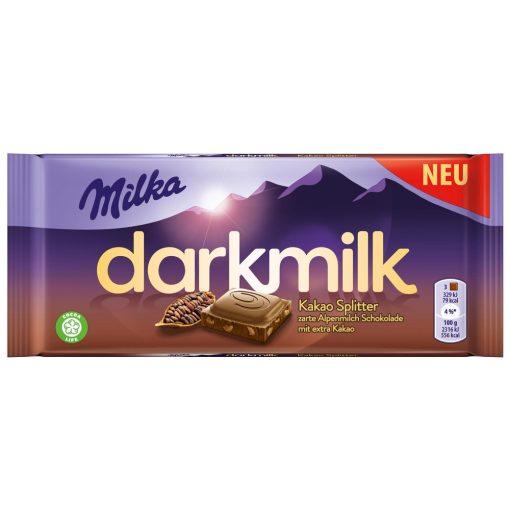 Milka Darkmilk Cocoa Nibs 85g