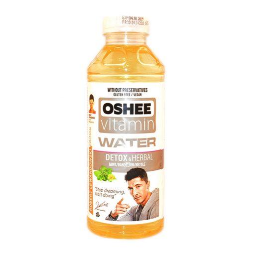 Oshee vitamin water detox-herbal 555ml